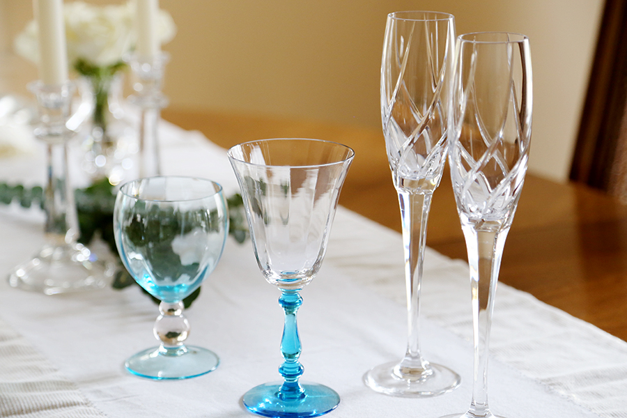 Use your good tableware more often so you can enjoy it.