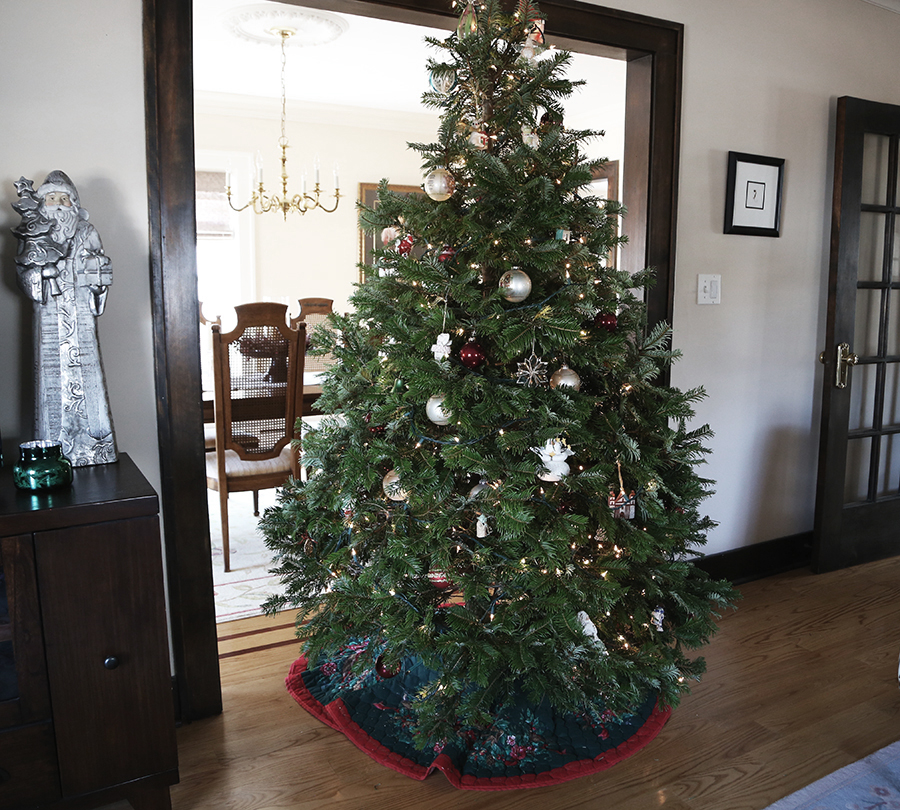 christmas tree, decor, ornaments